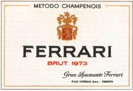 New World wine experience, Ferrari unico spumante italiano
