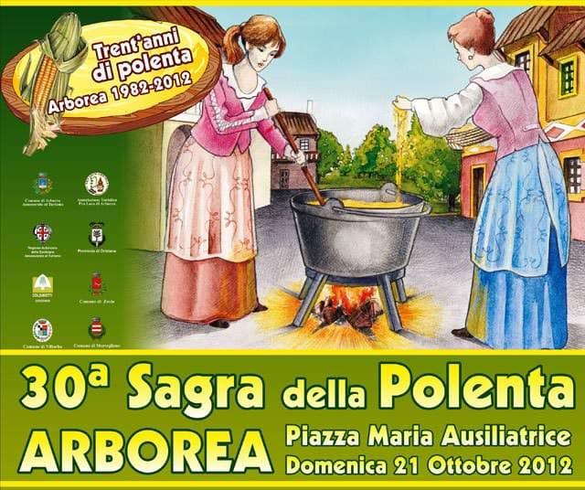21 ottobre, Sardegna, Sagra della Polenta ad Arborea