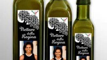 Olio I.O.O.% alta qualità italiana per la Famiglia Obama