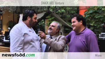 Antonino Cannavacciuolo e Gennaro Esposito al Ventura Top Chef (video)