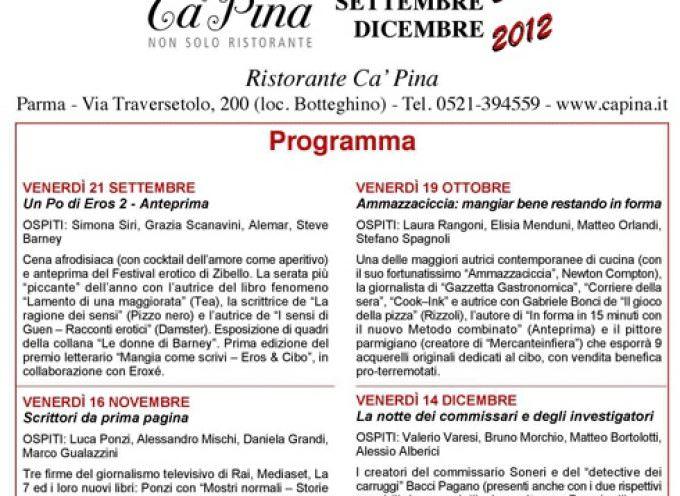 Mangia come scrivi: la cucina di Parma, tre grandi giornalisti