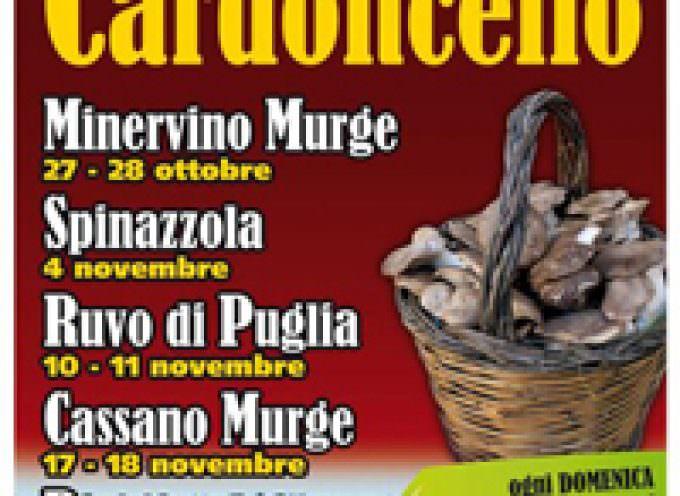 10-11 novembre, a Ruvo di Puglia (BA) torna il Fungo Cardoncello