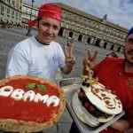 La pizza Obama per esaltare il nuovo presidente USA