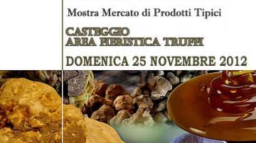 25/11, Casteggio (PV), ecco la 28° Fiera del Tartufo e del Miele