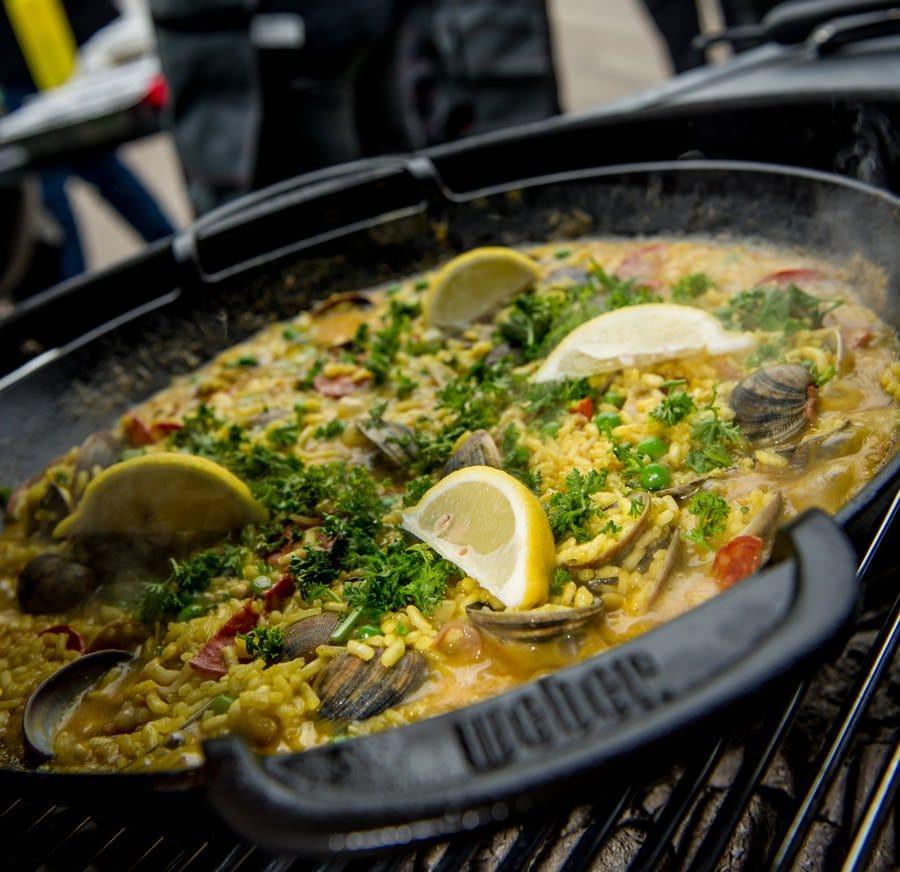 La gastronomia su barbecue Weber a Golosaria