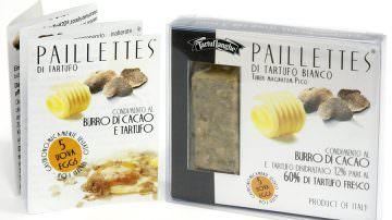 Paillettes di tartufo, un condimento innovativo