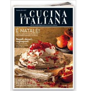 Presentato il nuovo numero di dicembre de La Cucina Italiana