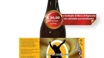 Birra personalizzata: l'etichetta ed il testo che vuoi