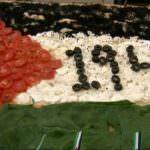 Palestina, una pizza per il riconoscimento dell'ONU