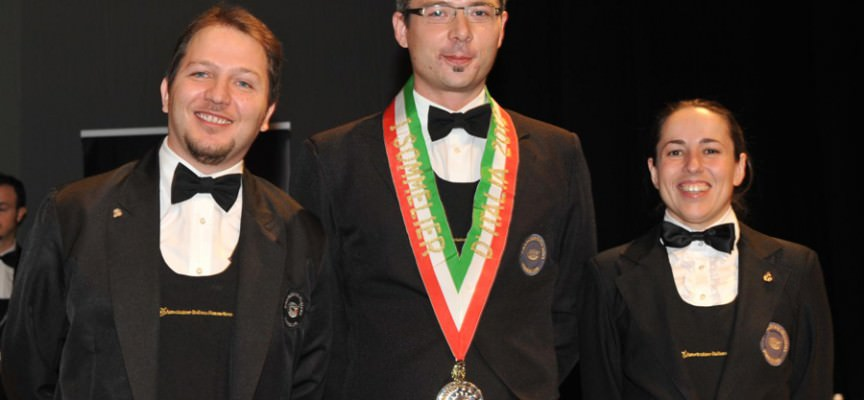 "Il ""Miglior Sommelier d'Italia"" è Dennis Metz"