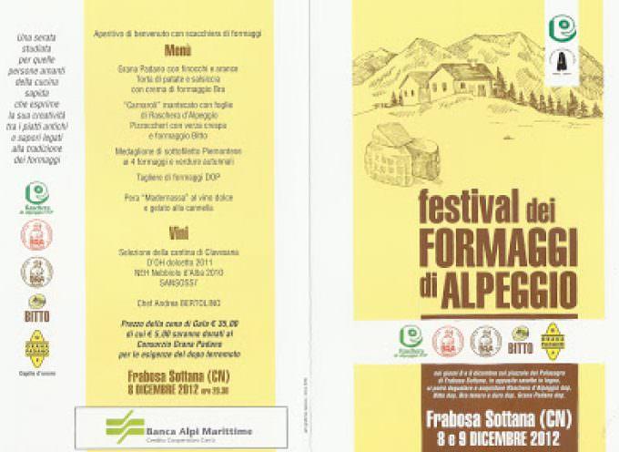 Frabosa Sottana (CN), al via il Festival nazionale dei formaggi d'alpeggio