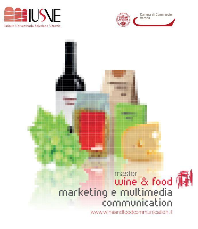 """Master """"wine and food"""" per formare esperti in comunicazione e web-marketing"""