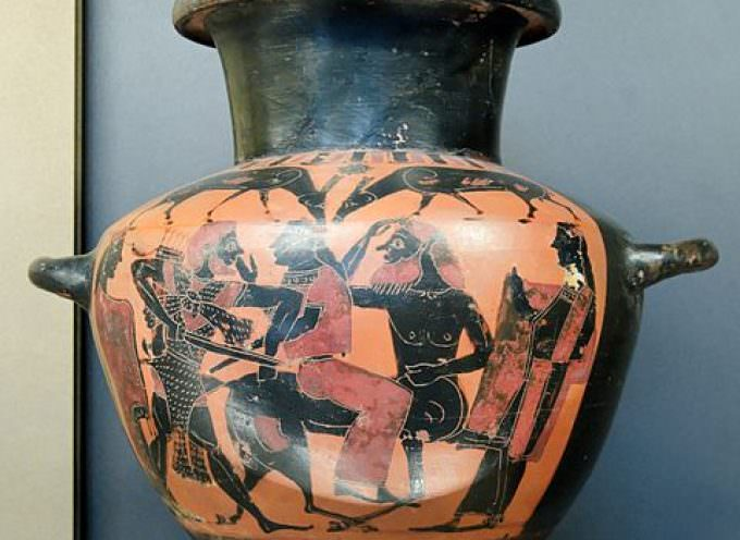 Tra mito e storia: il vino in mostra a Siena