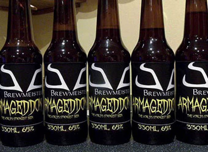 Armageddon: nasce in Gran Bretagna la birra più alcolica del whisky