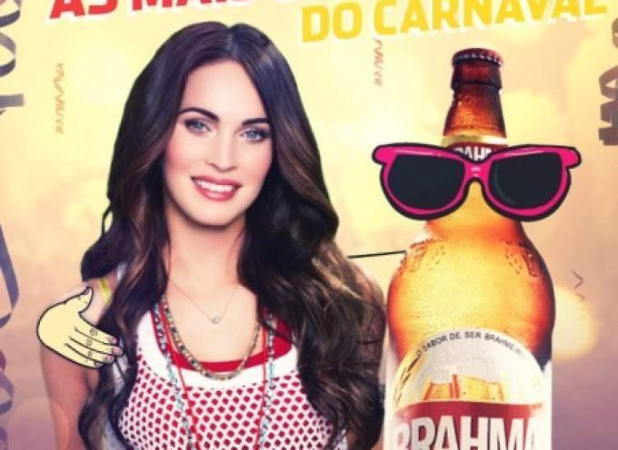 Birra, Megan Fox testimonial per la brasiliana Brahma