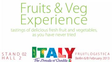 Fruitlogistica Berlino: Degustazione di frutta e verdura organizzata dal CSO