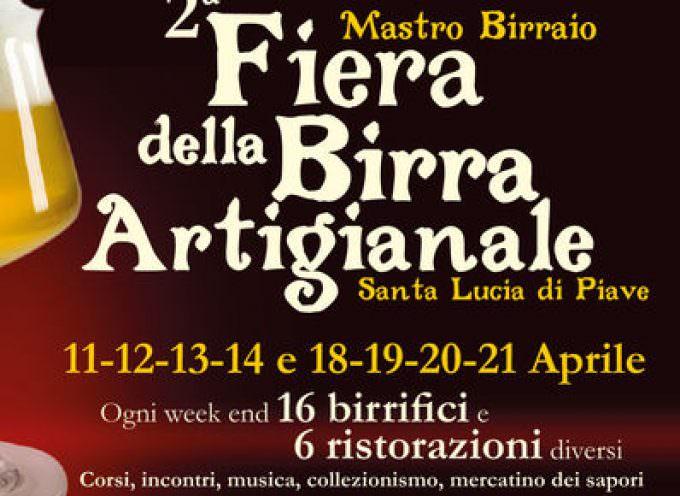 11 aprile, Fiera della Birra Artigianale a Santa Lucia di Piave (TV)