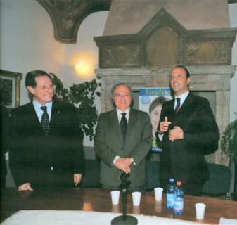 Mario Mantovani incontro a Milano Achille Colombo Clerici, presidente di Assoedilizia e di Federlombarda Edilizia