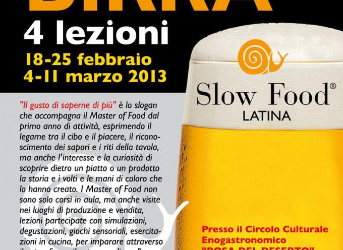 Latina, Master of Food dedicato alla birra