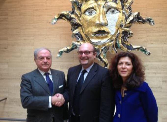 Antonio Misiani incontra Achille Colombo Clerici presidente di Assoedilizia e di Federlombarda Edilizia