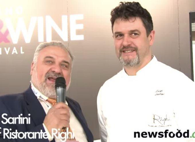 Corsi di cucina a San Marino, Ristorante Righi, Luigi Sartini Chef stella Michelin