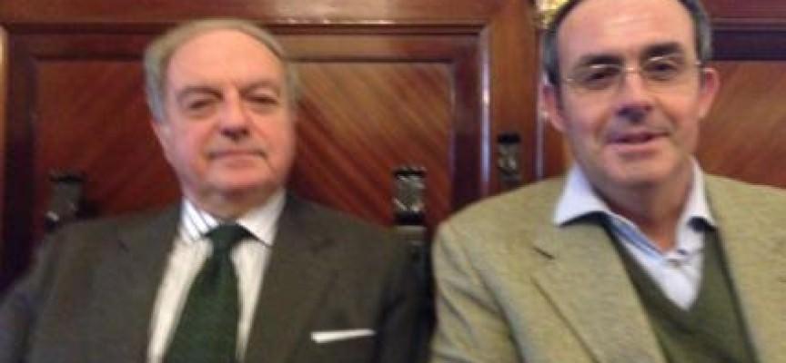 Enrico Marcora incontra Achille Colombo Clerici, presidente di Assoedilizia e di Federlombarda Edilizia