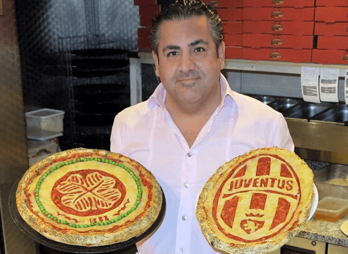 Celtic-Juve, la pizza di Domenico Crolla