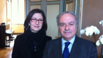 Mariastella Gelmini incontra Achille Colombo Clerici, presidente Assoedilizia e vice-presidente Confedilizia