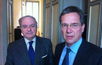 On. Luigi Casero incontra Achille Colombo Clerici, presidente di Assoedilizia e vice-presidente di Confedilizia