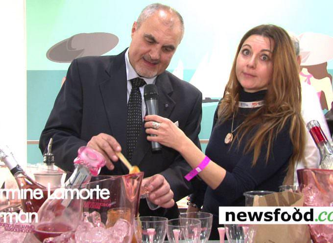 Chiaretto Bardolino Rosè: Angelo Peretti ed il barman Carmine Lamorte (Video)
