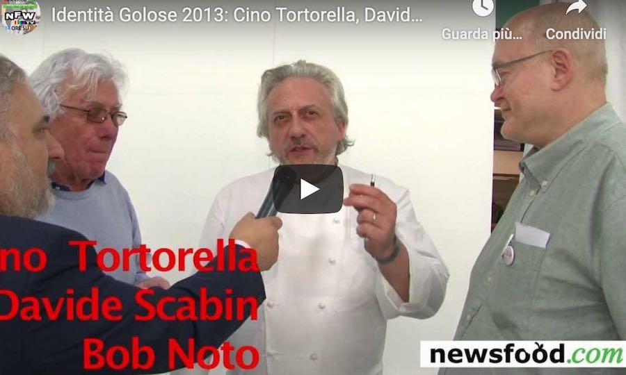 Cino Tortorella, Davide Scabin e Bob Noto: un Tris Goloso (video)