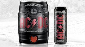 Dagli AC/DC, la birra Black Ice