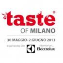 Taste of Milano, dal 30 maggio al 2 giugno