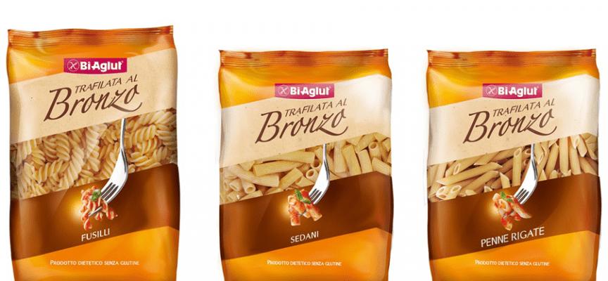 """E' nata la nuova pasta BiAglut """"Trafilata al bronzo"""" per celiaci"""