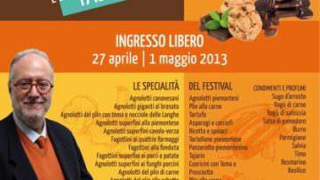 Primo Festival dell'Agnolotto e Tajarin con Edoardo Raspelli di Melaverde, Canale5