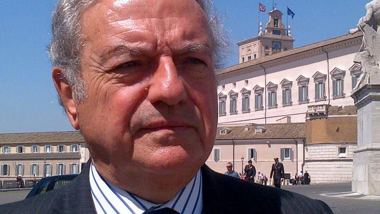 Giorgio Napolitano Presidente della Repubblica-Felicitazione di Achille Colombo Clerici