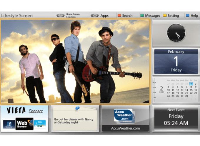 Panasonic: Nuova versione 2013 della piattaforma VIERA Connect