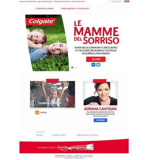 Colgate promuove una community per le mamme e un grande concorso