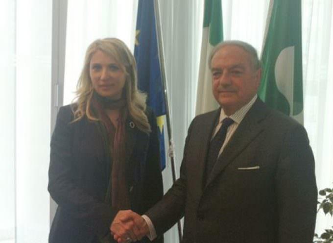 Incontro del presidente di Assoedilizia con Viviana Beccalossi Assessore al Territorio