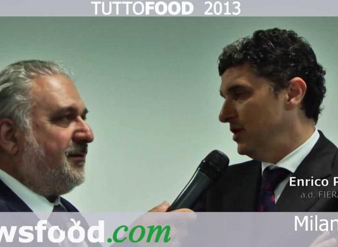 Inaugurazione TUTTOFOOD 2013, Enrico Pazzali a.d. di Fiera Milano – video intervista