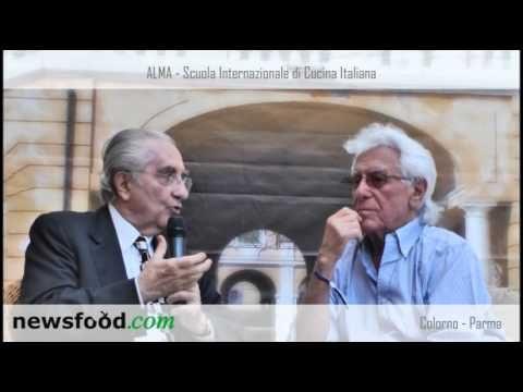 """Gualtiero Marchesi """"Intervista"""" Cino Tortorella ad Alma 2013 (Video)"""
