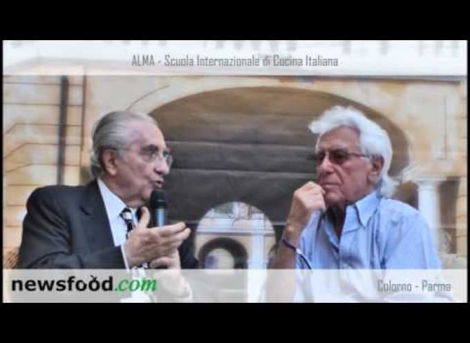 "Gualtiero Marchesi ""Intervista"" Cino Tortorella ad Alma 2013 (Video)"