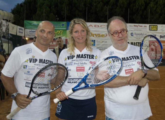 """Al via """"Vip Master"""", la gara di tennis organizzata da Mario e Patrick Baldassari"""