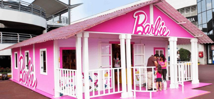 il forte village ospita barbie e la sua casa dei sogni