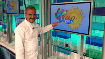 Peppe Zullo a Uno Mattina per parlare del grano arso
