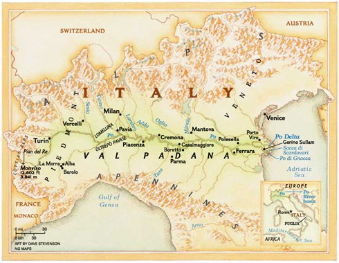 UnPOxExPO2015: Il Po diventa palcoscenico della cultura e civiltà agroalimentare italiana