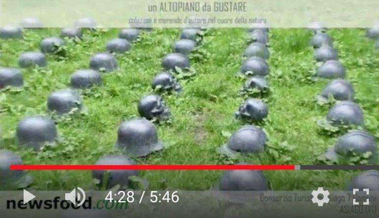 Asiago 2013: Il Sentiero del Silenzio -Porta della Memoria (video)