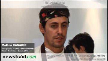 Matteo Casadio Chef Ristorante Terrazza Bartolini (Video)