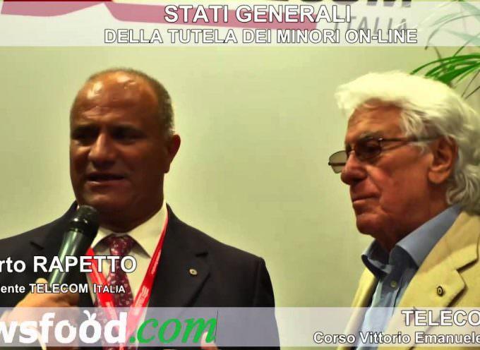 Umberto Rapetto e Mago Zurlì: Telecom Italia per la tutela dei minori (Video)
