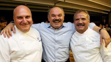 Peppe Zullo e Pietro Zito maestri di Cucina pugliese a Eataly, Bari